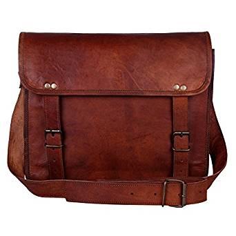 Rustic Town Genuine Leather Handmade Messenger Bag