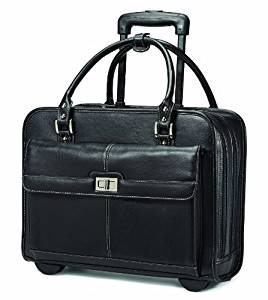 Samsonite Luggage Women's Spinner Mobile Office Rolling Briefcase