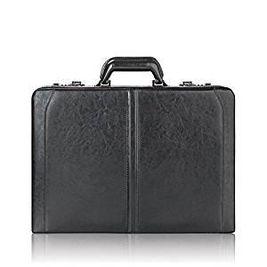 Solo Broadway Premium Leather Laptop Attaché