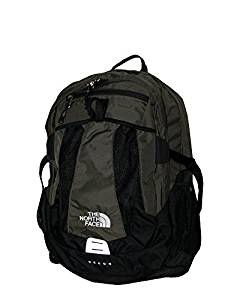 The North Face MEN'S Recon laptop backpack book bag (New Taupe Green)