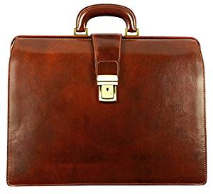 Time Resistance Leather Attaché