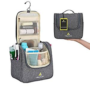 8dcd6cab9614 Travel Hanging Toiletry Bag by Hikenture