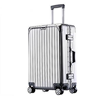 TravelKing Multi-size All Aluminum HardShell Luggage Case