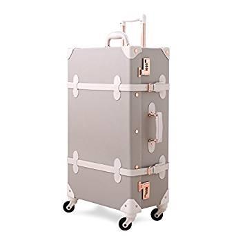 Unitravel Vintage Suitcase Retro Luggage