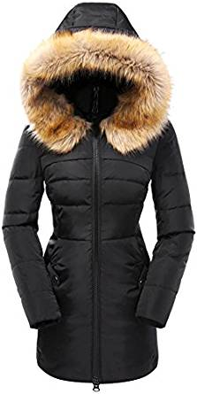 Ladies Down Filled Parka