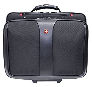 Wenger Triple Gusset Rolling Computer Case with Removable Tote