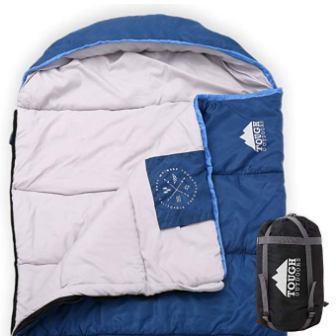 All Season Hooded XL Sleeping Bag