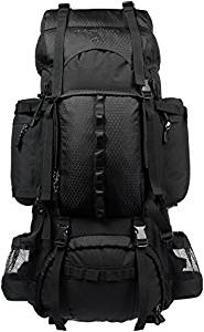 AmazonBasics 75L Internal Frame Hiking Backpack with Rainfly