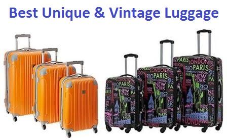 371b412cc6cd Top 15 Best Unique Luggage   Suitcases In 2019