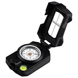 Eyeskey Waterproof Multifunctional Military Aluminum Compass