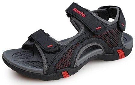 4bc688d758b ... but there s no reason you can t have all Kunsto Men s Synthetic Leather  Open-Toe Sandal