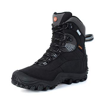 Manfen Women's Mid-Rise Waterproof Hiking Boots