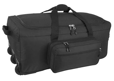 Mercury Luggage Mini Monster Ripstop Nylon Rolling Duffel Bag