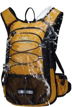 Mubasel Gear Insulated Hydration Backpack with 2L BPA FREE Bladder-Keeps liquid cool up to 4 hours-for Running, Hiking, Cycling, Camping