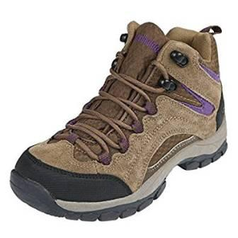 Northside Women's Pioneer Mid Rise Leather Hiking Boots