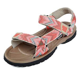 Northside Womens Seaview Sport Athletic Strap Sandal