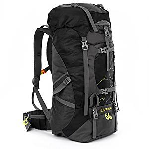 OUTLIFE 60L Water-Resistant Hiking Backpack