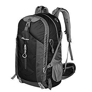 OutdoorMaster 50L Hiking Backpack with Waterproof Rain Cover