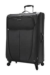 Skyway Luggage Mirage Superlight 28-Inch 4 Wheel Expandable Upright, Black, One Size