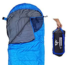 Sleeping Bag (47F/38F) Lightweight For Camping, Backpacking