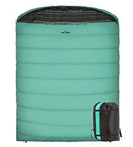 TETON Sports Mammoth Queen Size Sleeping Bag; Warm and Comfortable; Double Sleeping Bag