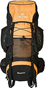 Teton Sports Scout 3400 Internal Frame Hiking Backpack