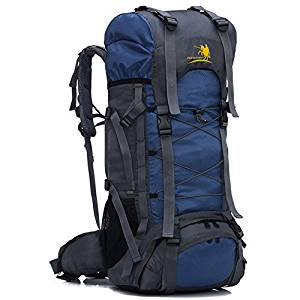 Z ZTDM 55L Internal Frame Hiking Backpack