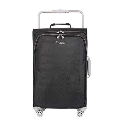 "it luggage World's Lightest 27.6"" 8 Wheel Lightweight Spinner, Raven"