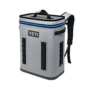 Hopper BackFlip 24 Soft Sided Cooler/Backpack from YETI, Fog Gray