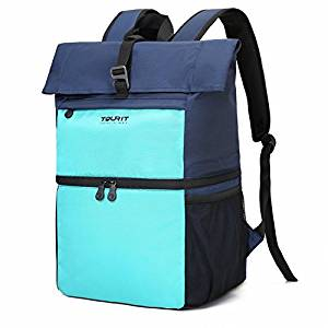 Insulated Cooler Backpack Lunch Backpack Cooler, Bag Light Backpack from TOURIT