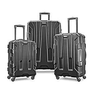 SAMSONITE CENTRIC EXPANDALE HARDSIDE LUGGAGE SET WITH SPINNER WHEELS