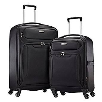 SAMSONITE ULTRALITE EXTREME 2 PIECE SOFTSIDE SPINNER LUGGAGE SET