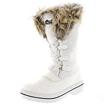 Polar Women's Nylon Tall Winter Snow Boot