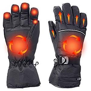 Battery Heated Gloves for Men & Women