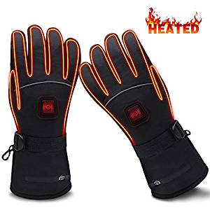 GLOBAL VASION Electric Heated Gloves with Rechargeable Batteries