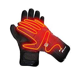 Heated Gloves Electric Hand Warmer Rechargeable Powered Li-ion Battery up to 6 Hours