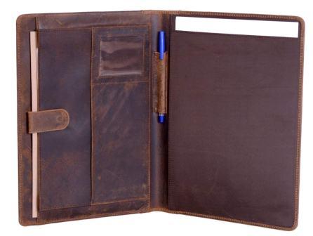 KomalC Genuine Leather Business Portfolio