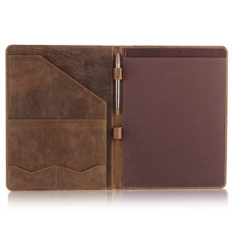 Moonster Leather Portfolio Professional Organizer Padfolio