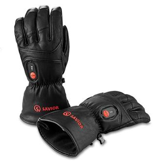 Savior Heated Gloves Warm Gloves for Cycling, Skiing, Works up to 2.5-6 hours