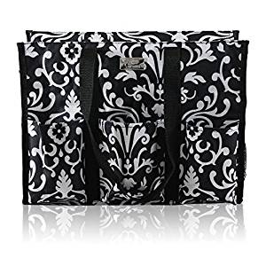 ... Large) Teacher Bag with Pockets from Pursetti – Perfect Gift for  Teacher s Appreciation and Christmas (Paisley 945ff32051654