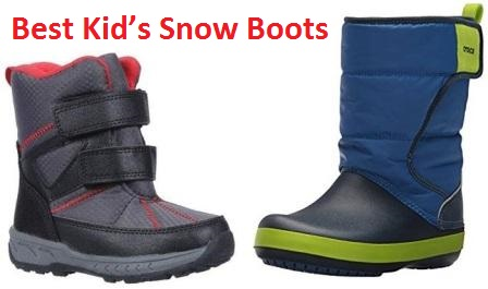 736d065b15ff It is all Top 15 Best Kid's Snow Boots in 2018 the more important for little  children ...