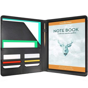 Calendars & Planners Dedicated Wundermax Slim Portfolio Office