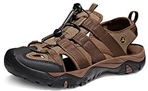 ATIKA Men's Sports Sandals Trail Outdoor Water Shoes 3 Layer Toe cap