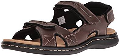 Dockers Men's Newpage Leather Sporty Sandal