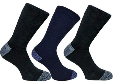 Ebro Men's Long Hose Fully Cushioned Skiing Socks