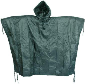 Mil-Tec Men's US Waterproof Ripstop Hooded Nylon Festival Poncho