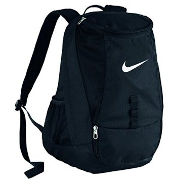 Nike Club Team Swoosh Backpack BlackWhite Size One Size