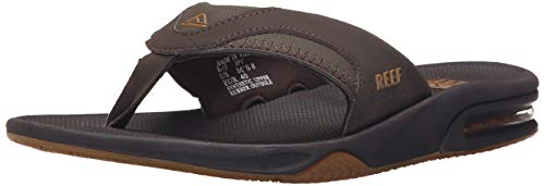 Reef Fanning Men's Sandals, Bottle Opener Flip-Flops For Men