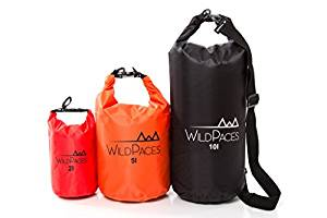 Super Value Set of 3 Waterproof Dry Bags by Wild Paces