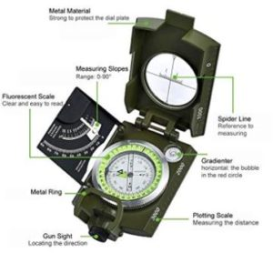 Top 15 Best Hiking Compasses in 2019